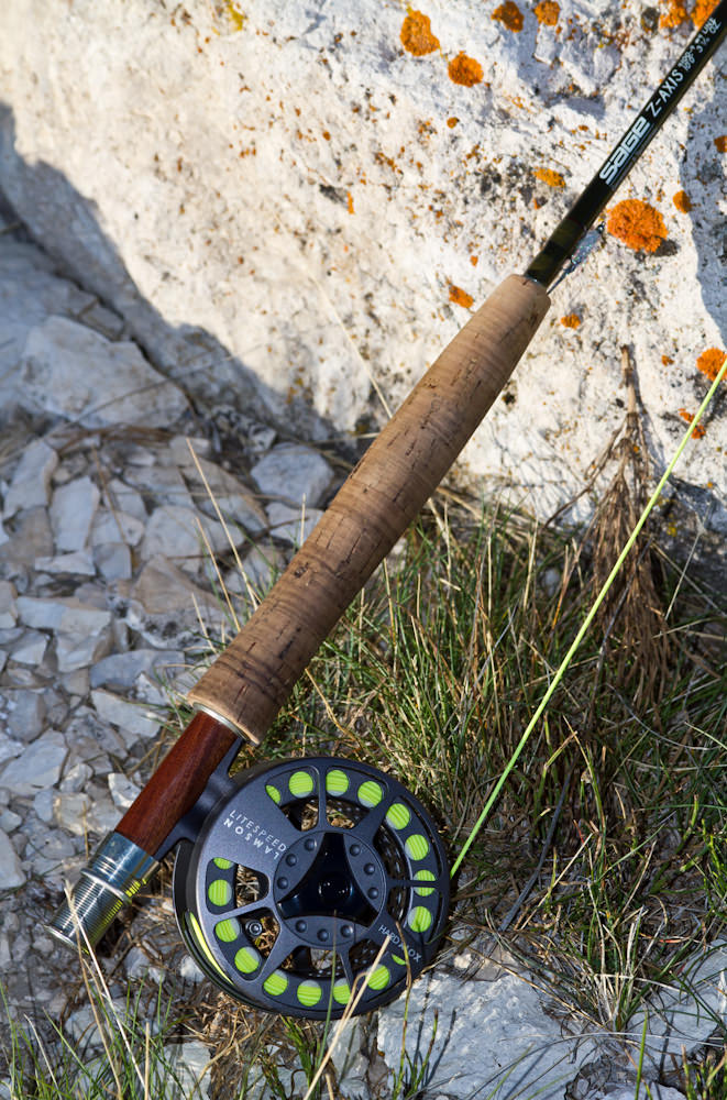Choosing the right fly rod the fly fishing basics for Trout fishing rod and reel