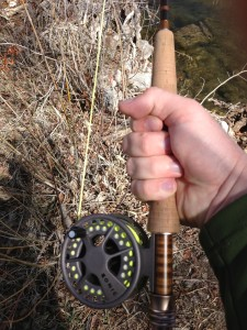 Golf Grip Side View - How to Hold a Fly Rod