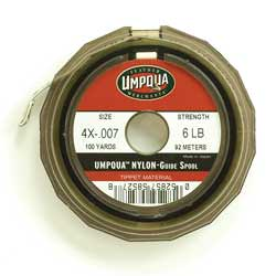 Fly fishing leader and tippet what why and how the fly for Fly fishing tippet