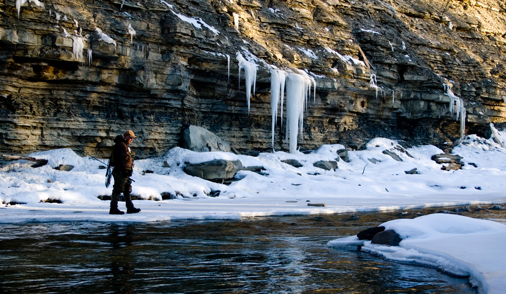 How to Catch Trout in Winter - Fly Fishing Basics