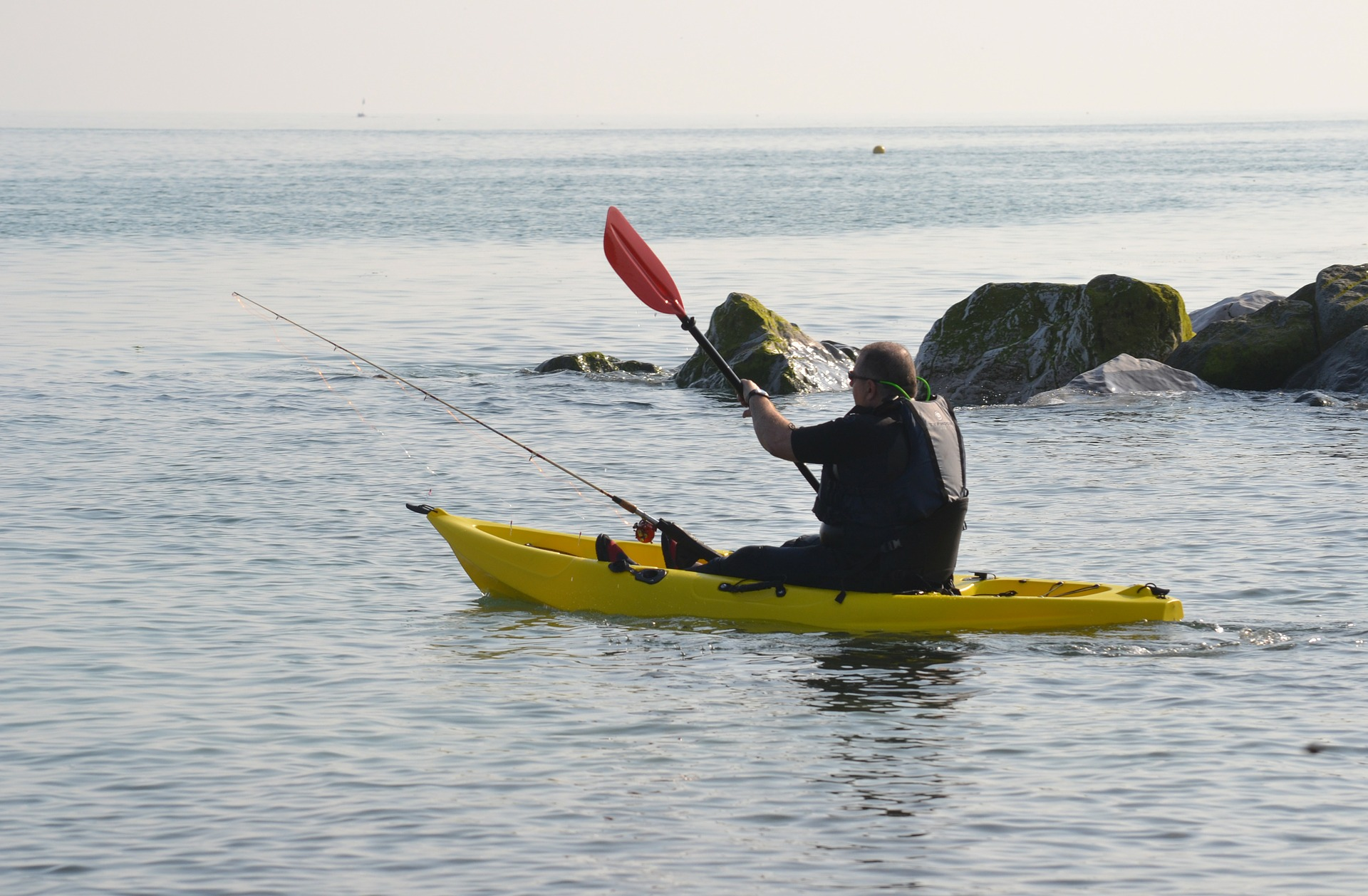 7 tips for fly fishing from a kayak the fly fishing basics for Fly fishing kayak