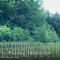 Learn how to fly fish with the basic fly cast